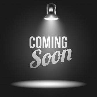 Credit: https://www.freepik.com/free-vector/coming-soon-message-illuminated-with-light-projector_1529250.htm